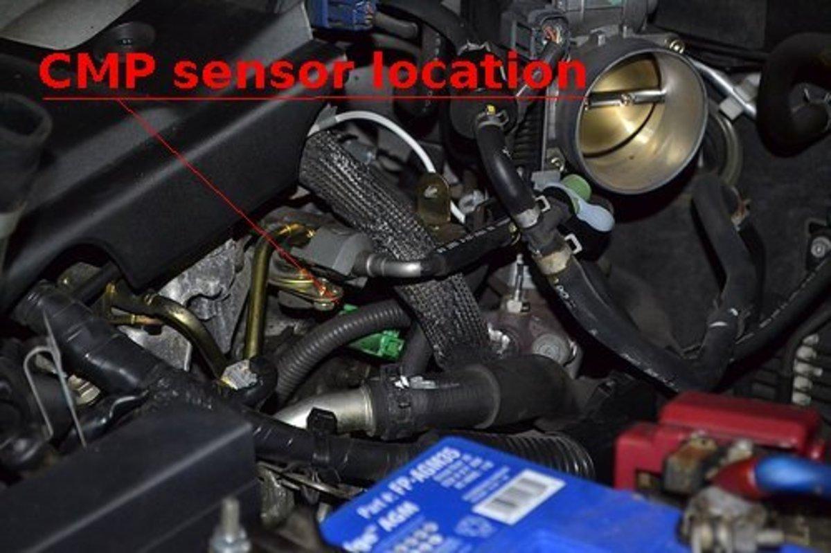 F on Camshaft Position Sensor Symptoms