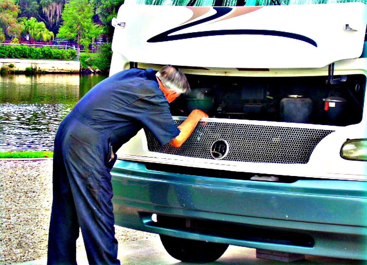 Always inspect every part of an RV before buying it.