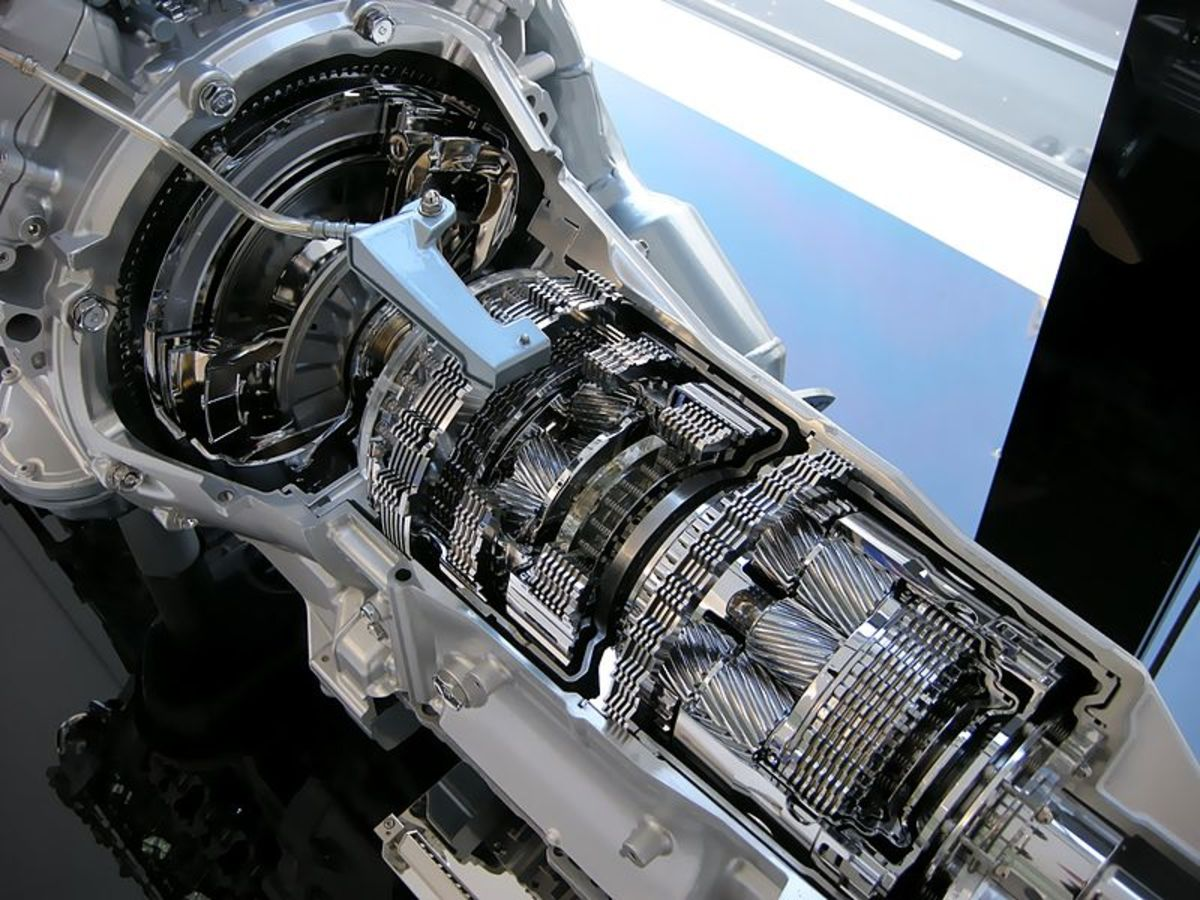 Lexus IS F 8-Speed automatic transmission.