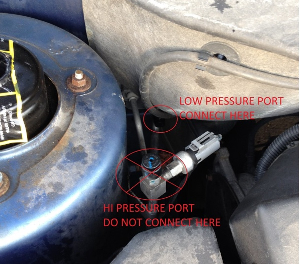 How To Add Refrigerant R 134a To A Chrysler Pacifica