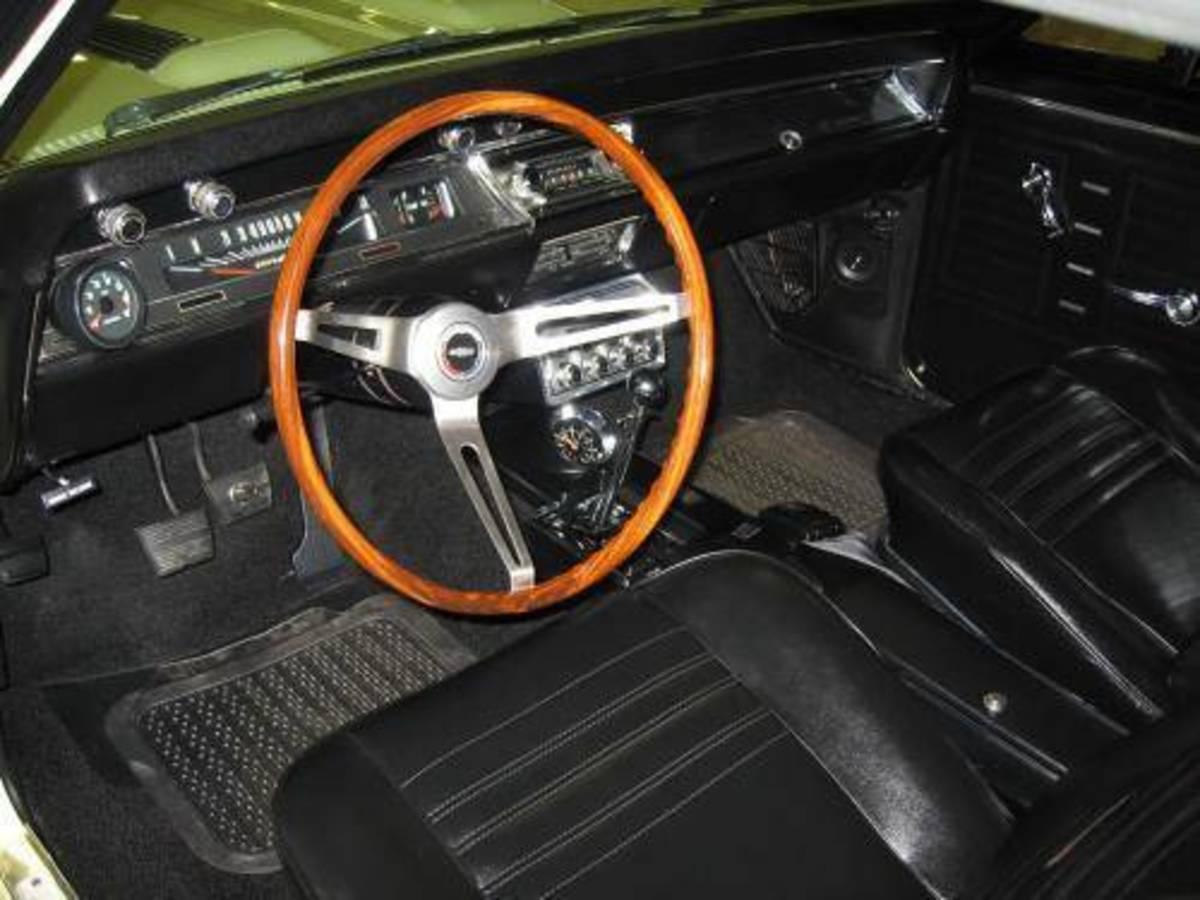 67 Chevelle Interior
