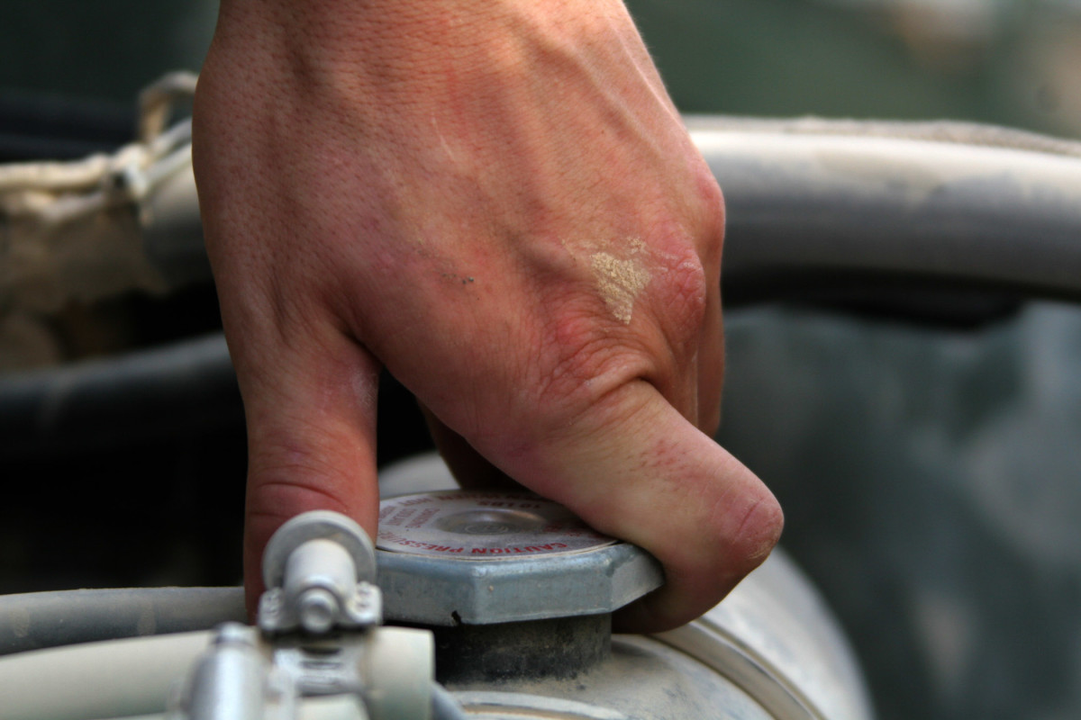 What causes a car to overheat? A bad radiator cap may be the cause of the problem.