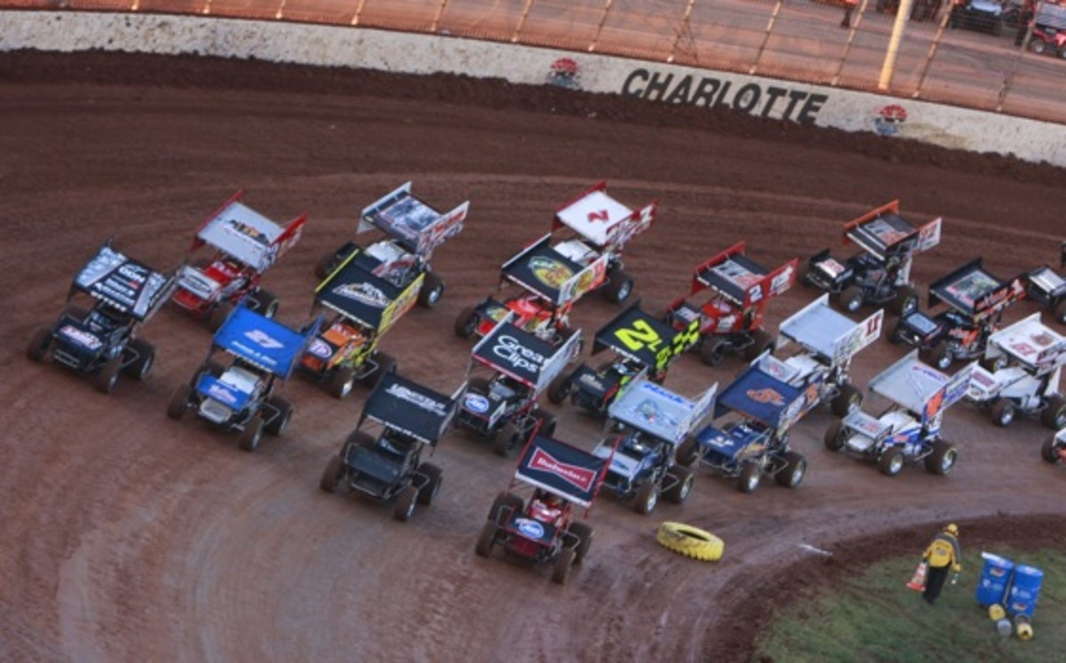 The World of Outlaws Sprint Cars at Charlotte