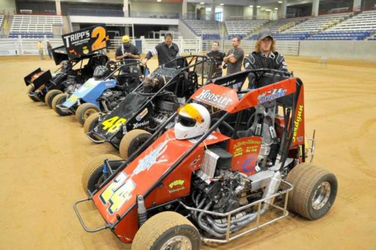 Modified midget race cars and mini spri