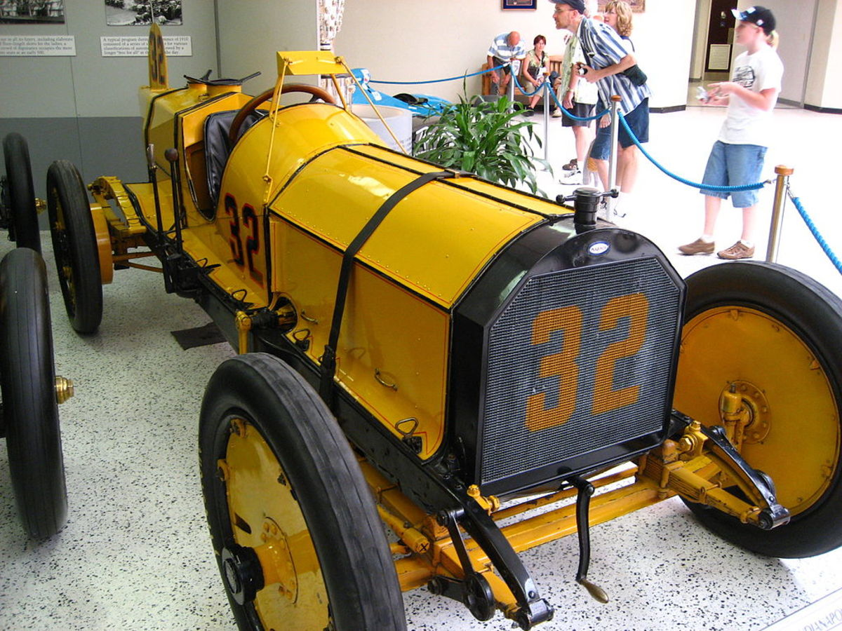 Ray Harroun's Wasp, winner of the 1911 Indianapolis 500
