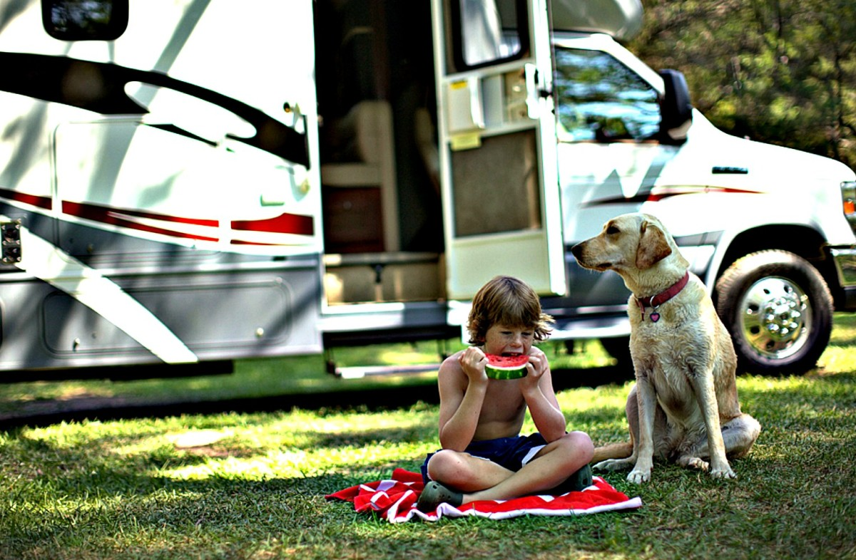 Dry RVs help to keep families healthy.