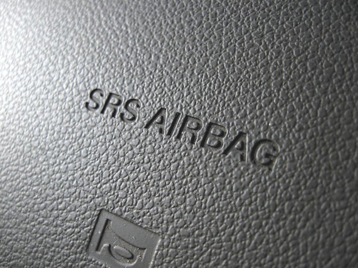 SRS airbag panel