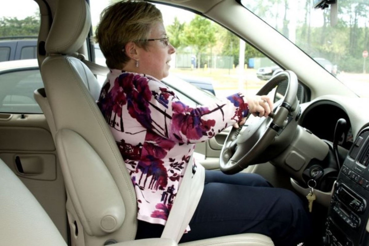 Shorter drivers must be careful of sitting too close to the steering wheel