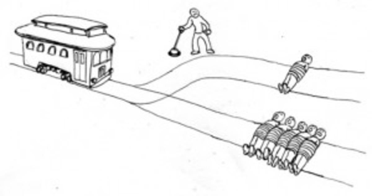 "The ""trolley problem"" is an ethical thought experiment"