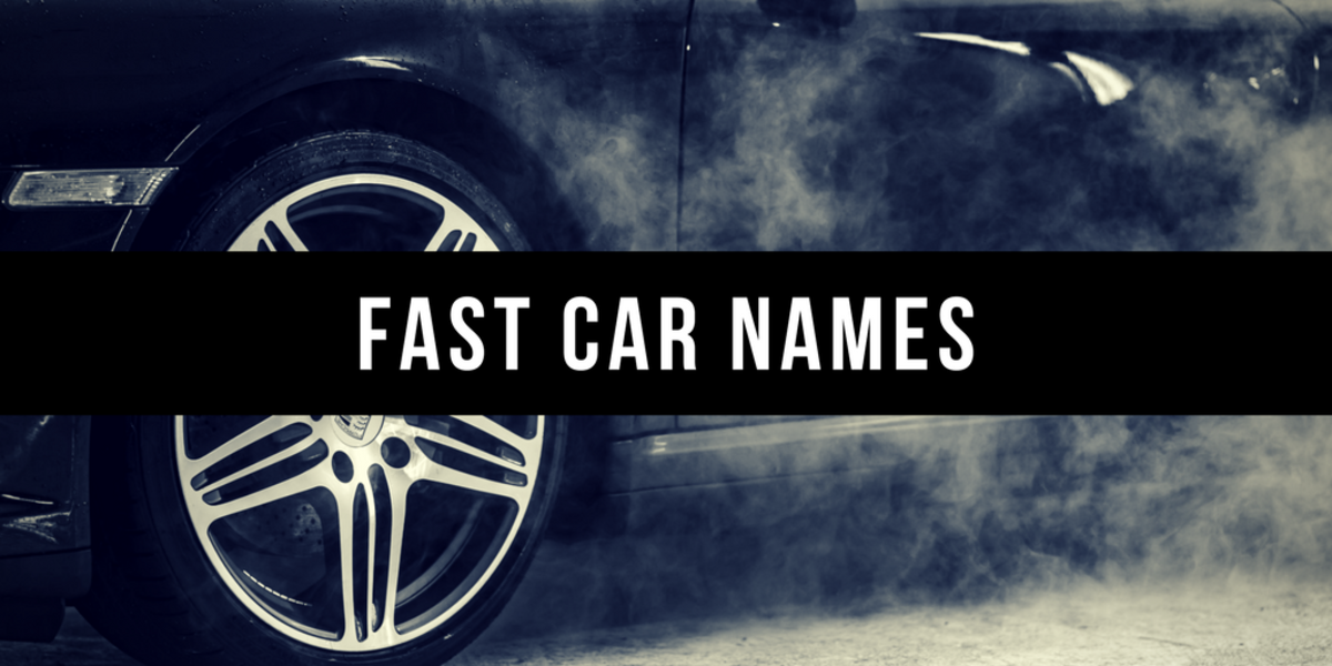 Here Are Some Ideas For Awesome Car Names By Color Style Personality And More