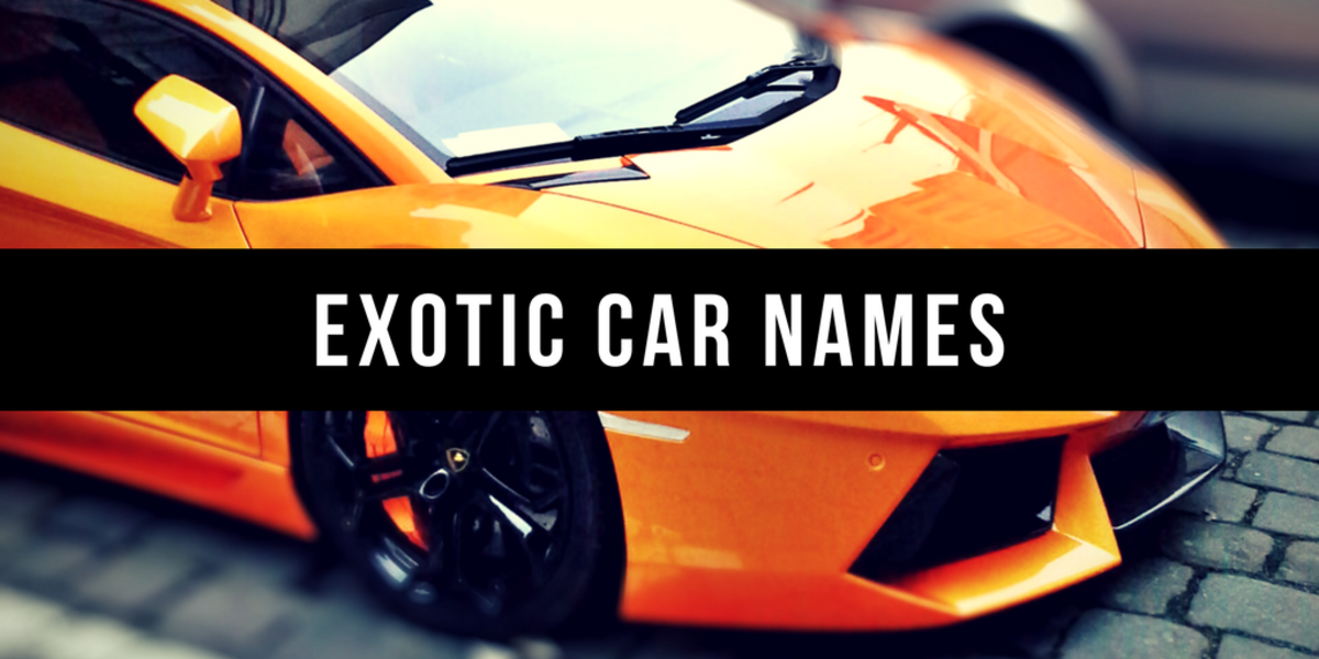 800 Good Car Names Axleaddict
