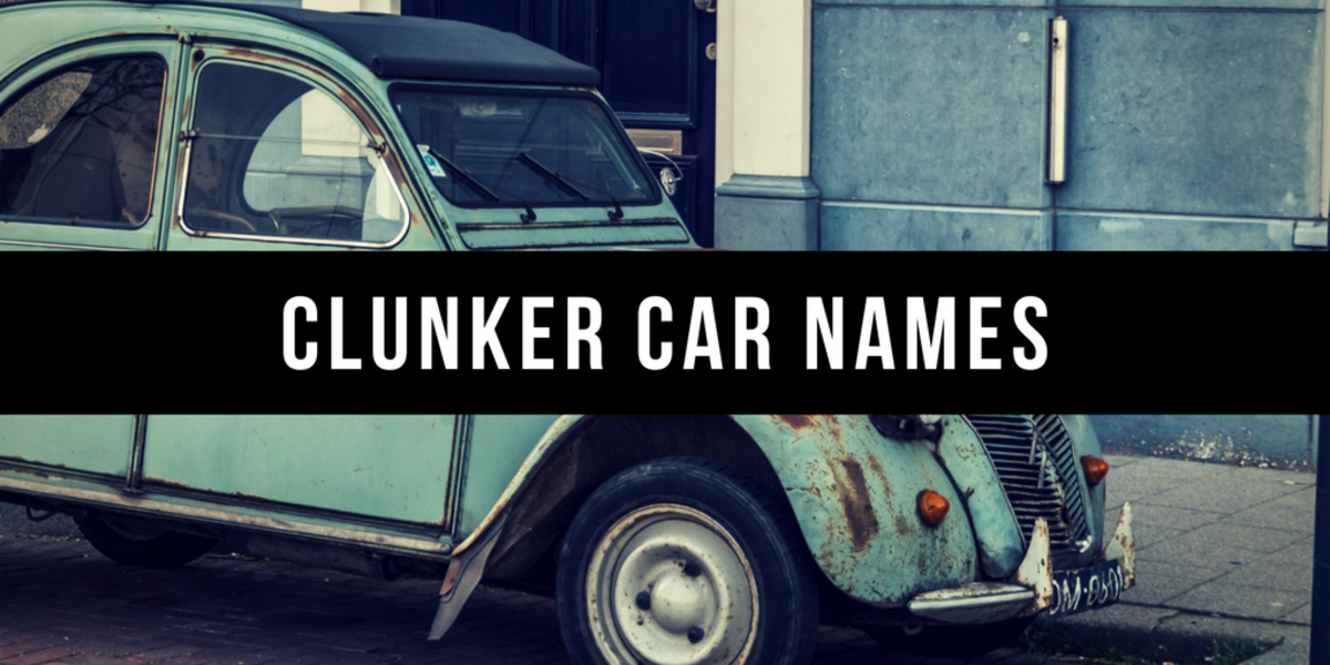800 Good Car Names Axleaddict