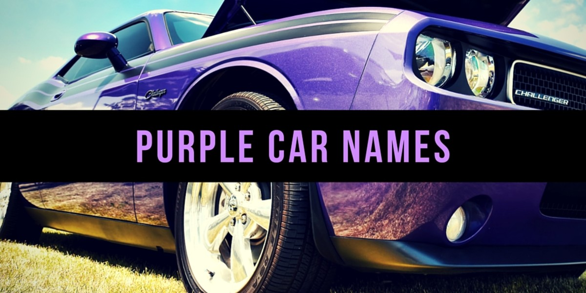 Purple Car Names