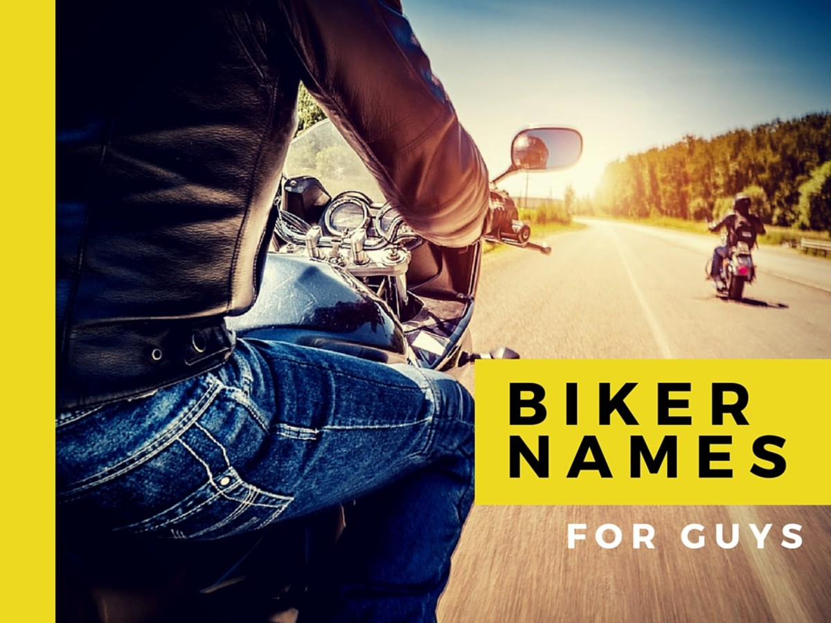 Nicknames for bikers