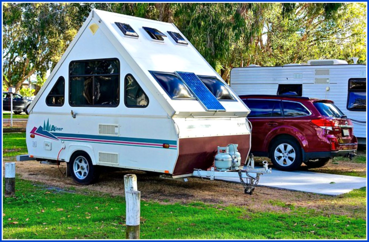 Most people prefer to stay in campgrounds because they are safer and more comfortable.