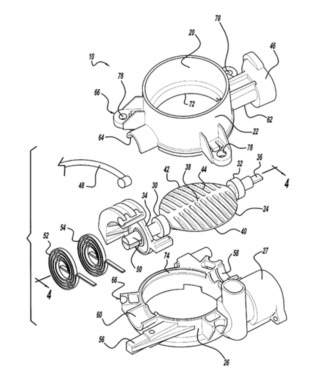 Typical throttle body injection system.