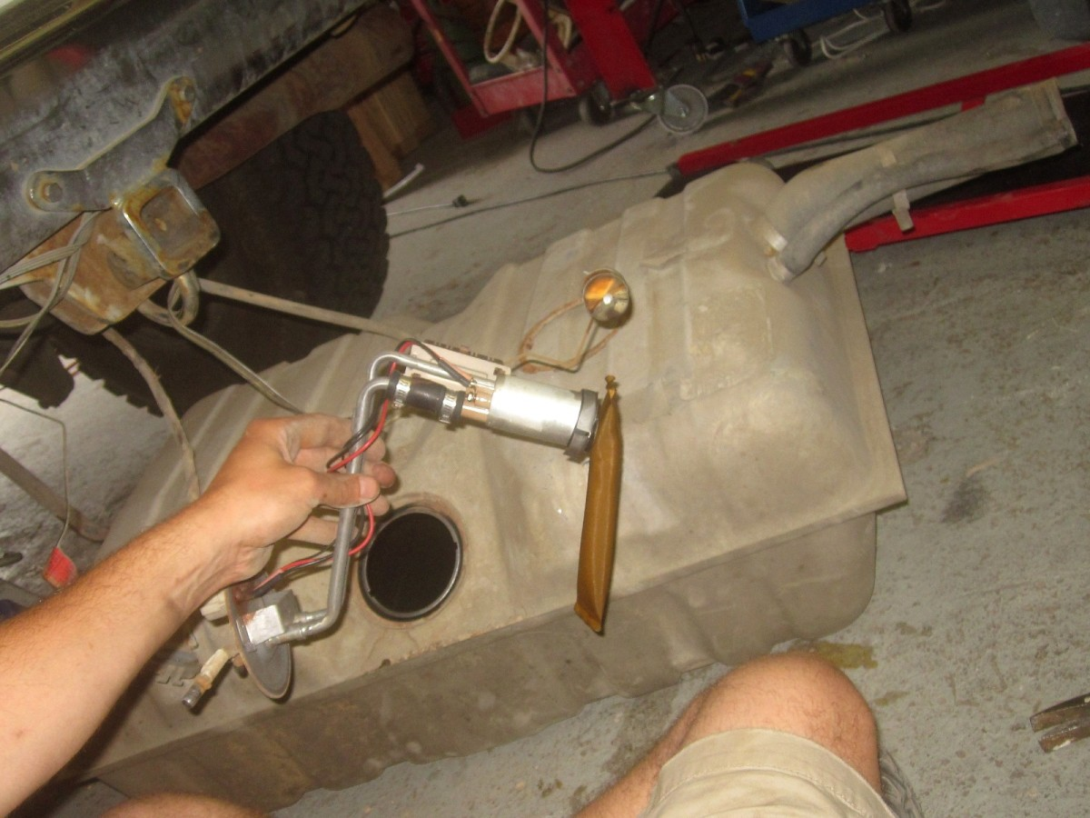 A bad fuel pump may cause low pressure.