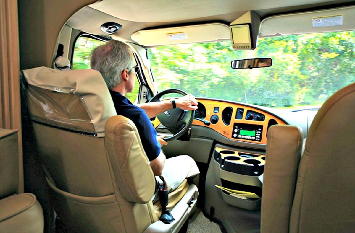 Practice safe RV driving.