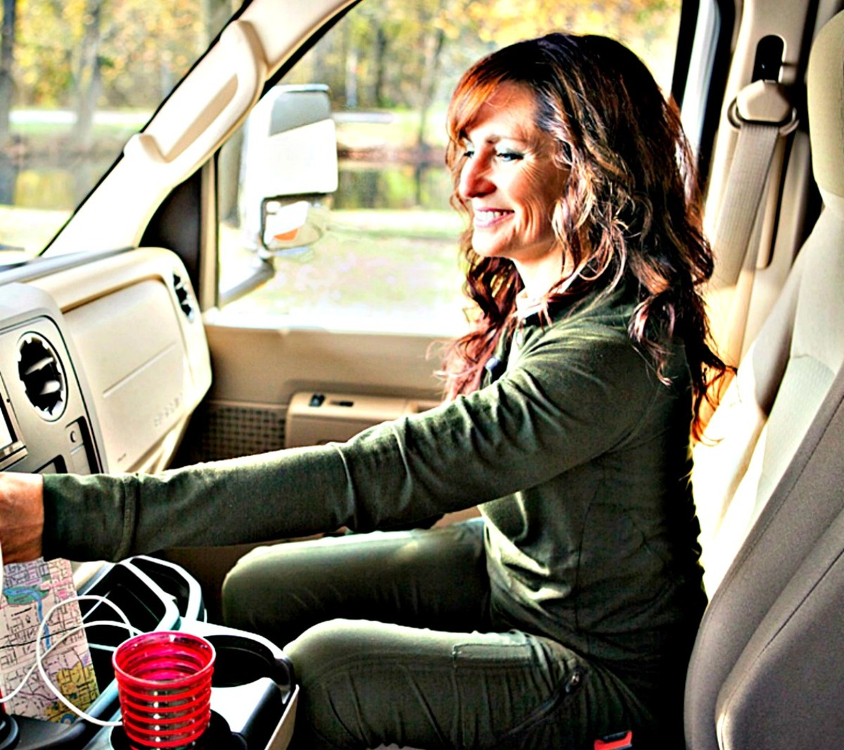 You'll have less stress and more enjoyment if you learn  how to drive your RV.