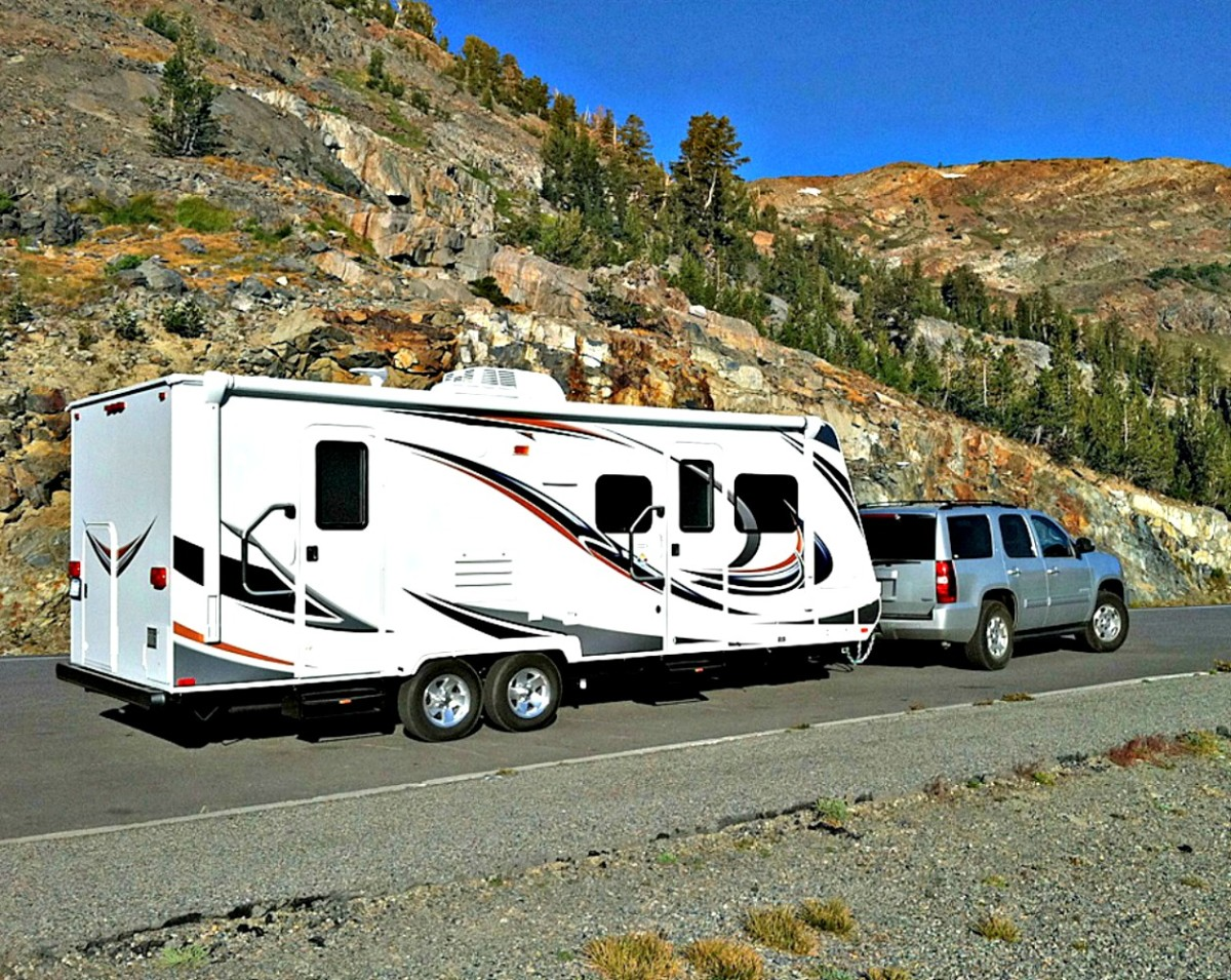 Some people can't drive big motor homes but may be able to drive travel trailers.