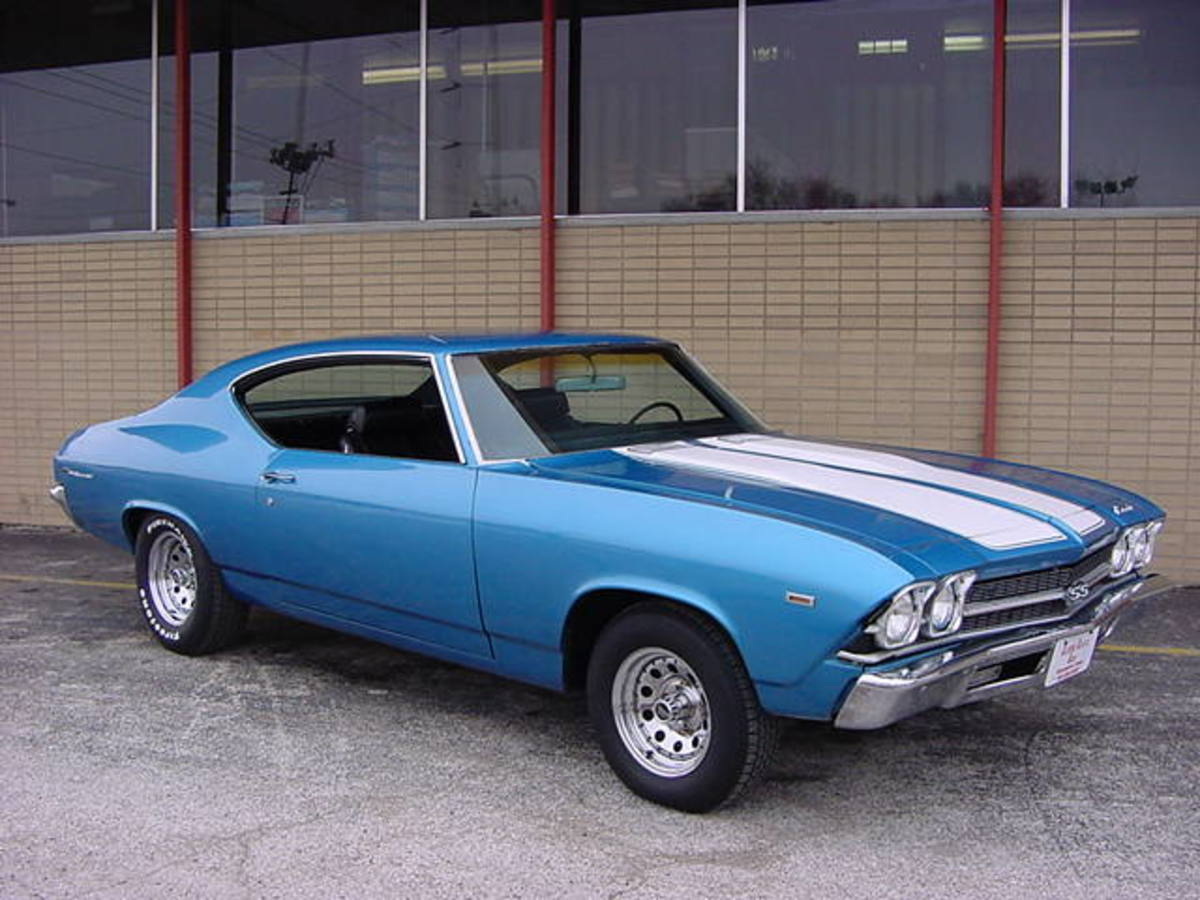A gorgeous 1969 Chevelle Malibu