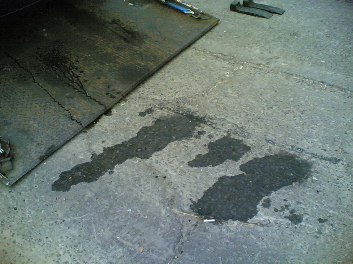 A leaking water pump will leave wet marks under your vehicle.