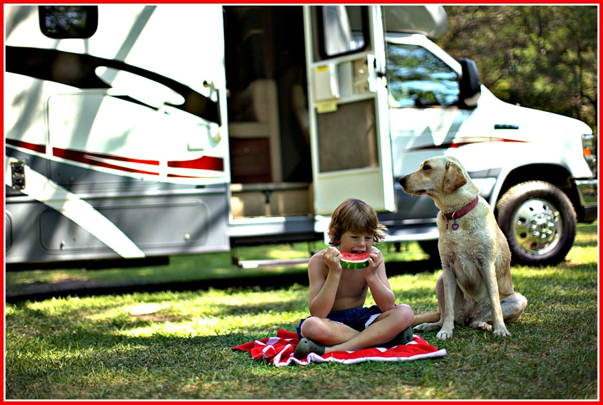 Do whatever is necessary to protect your family and vehicles during RV vacations.