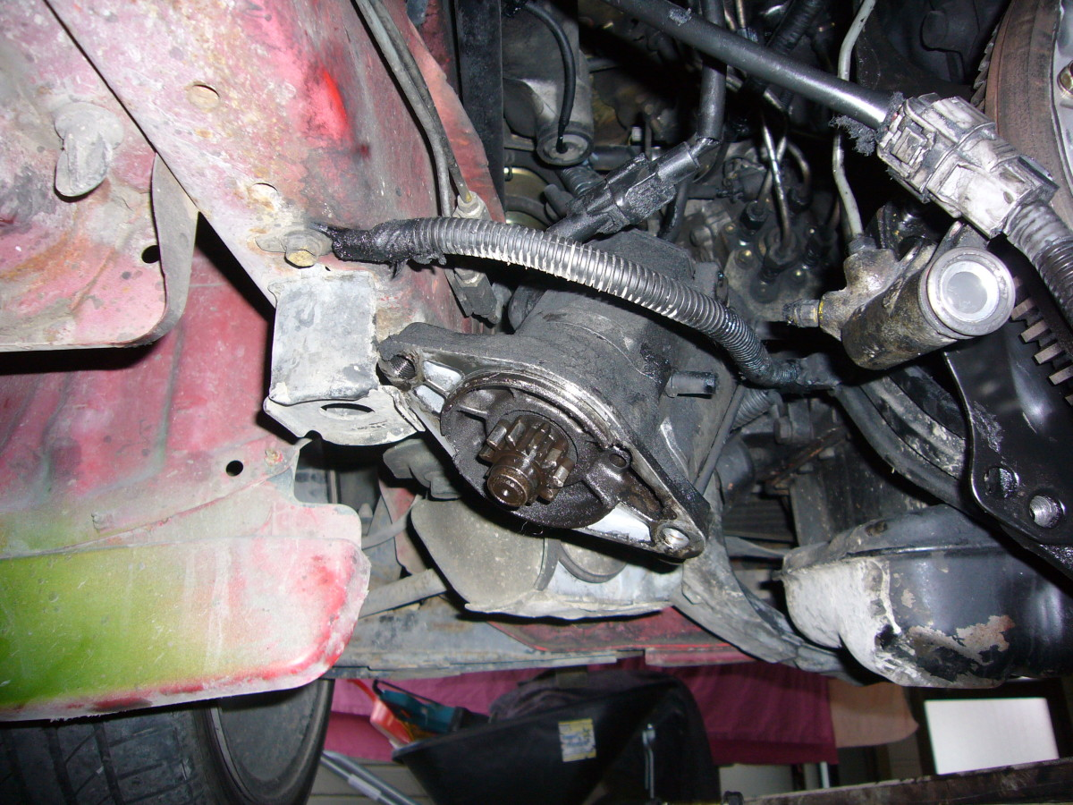 A starter motor will fail after miles of service.