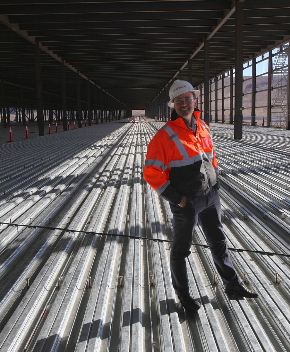 The Gigafactory in Nevada; still some work to do