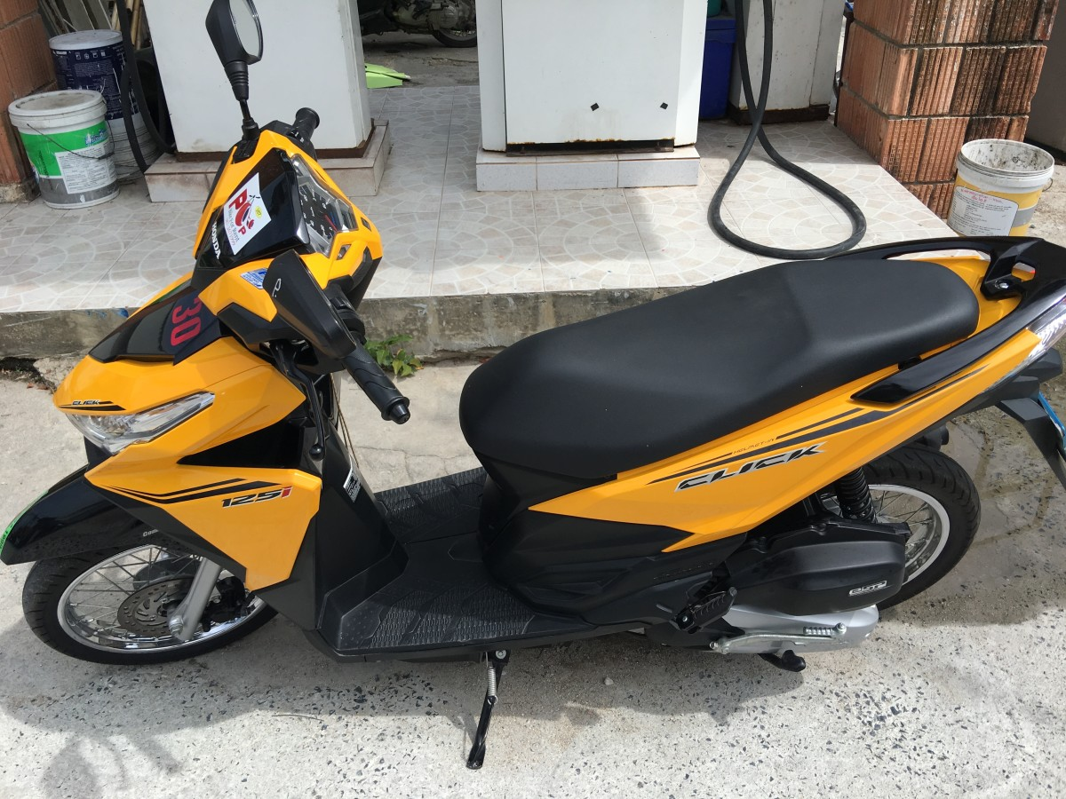You get a rental scooter. Take a photo and video from all angles to avoid being charged for damages