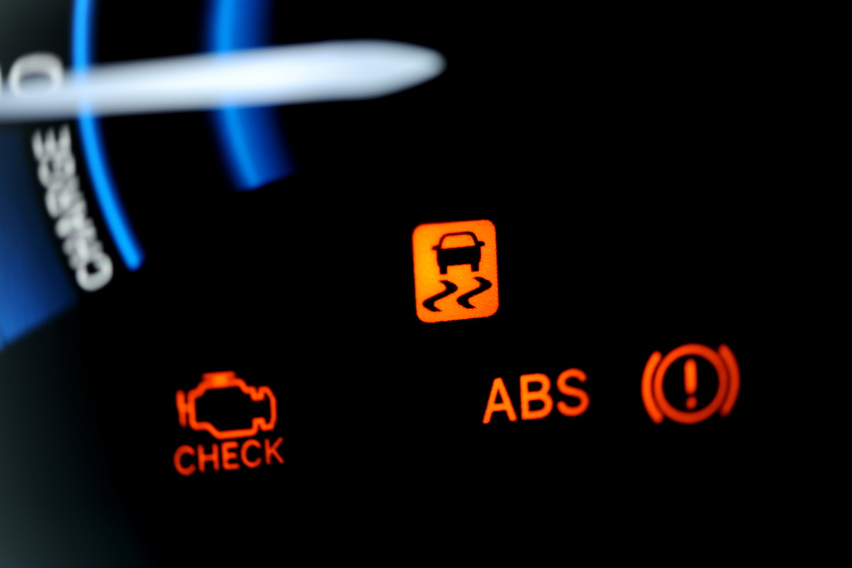 Take a flashing Check Engine Light as a warning sign.