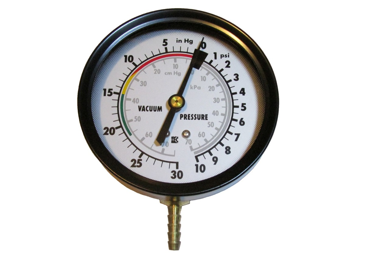 You can use a vacuum gage to verify engine vacuum level to the brake booster.
