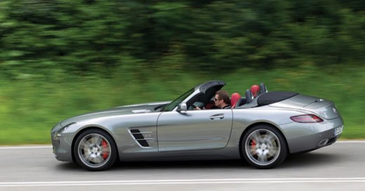 The SLS AMG Roadster was introduced at the Frankfurt Motor Show in September 2011, it came to the U.S. as a 20112 model.