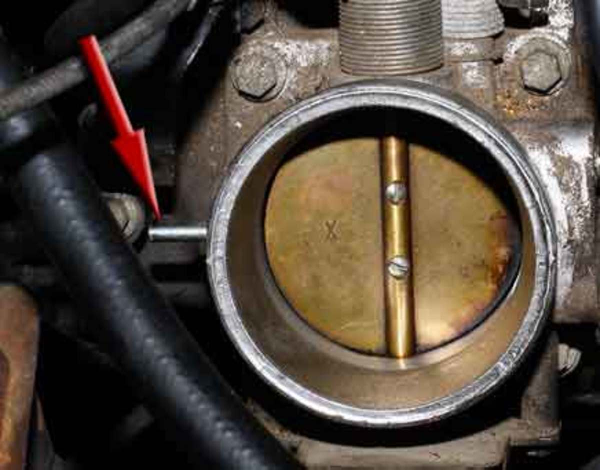Throttle body and intake manifld gaskets can develop leaks as well.