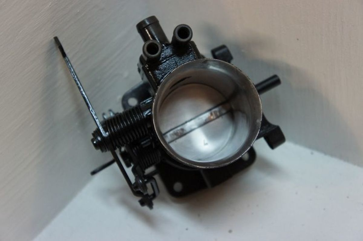 Check and clean the throttle plate at regular intervals.