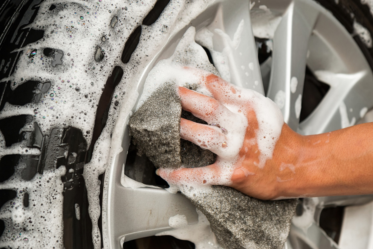 If you don't clean your tires properly, you could damage your car's brakes.