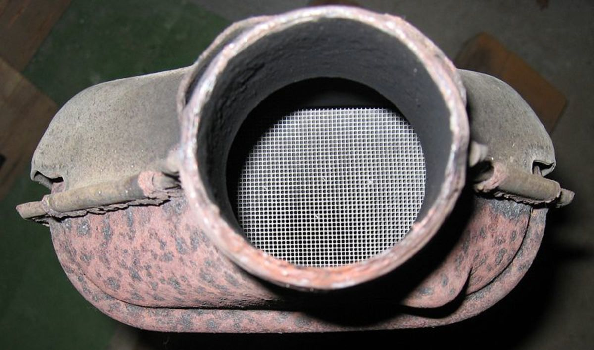 A plugged or collapsed catalytic converter will reduce engine power.