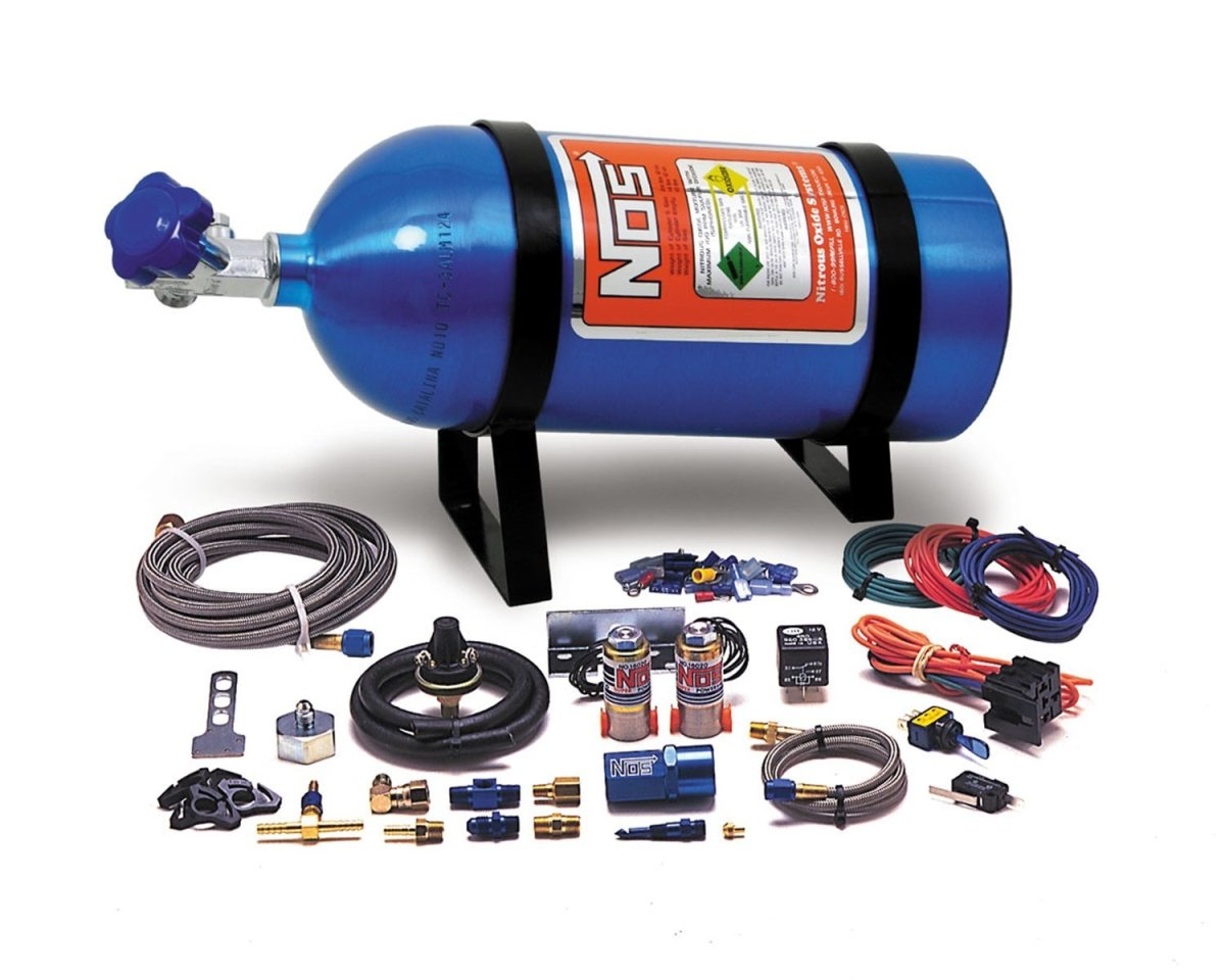 Nitrous Oxide Systems like this are available on Amazon or other car components sites.