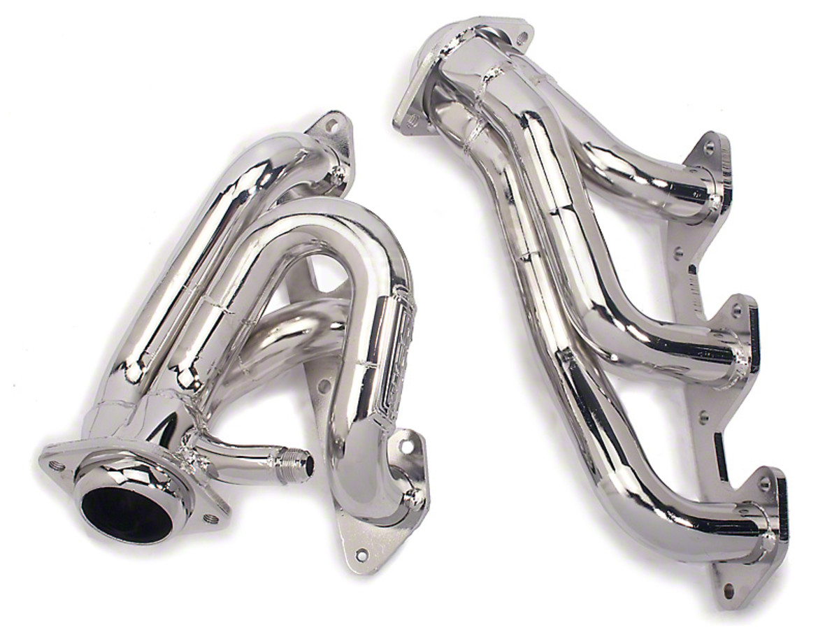 Replace your stock exhaust manifolds with some bolt-in, short tube headers.
