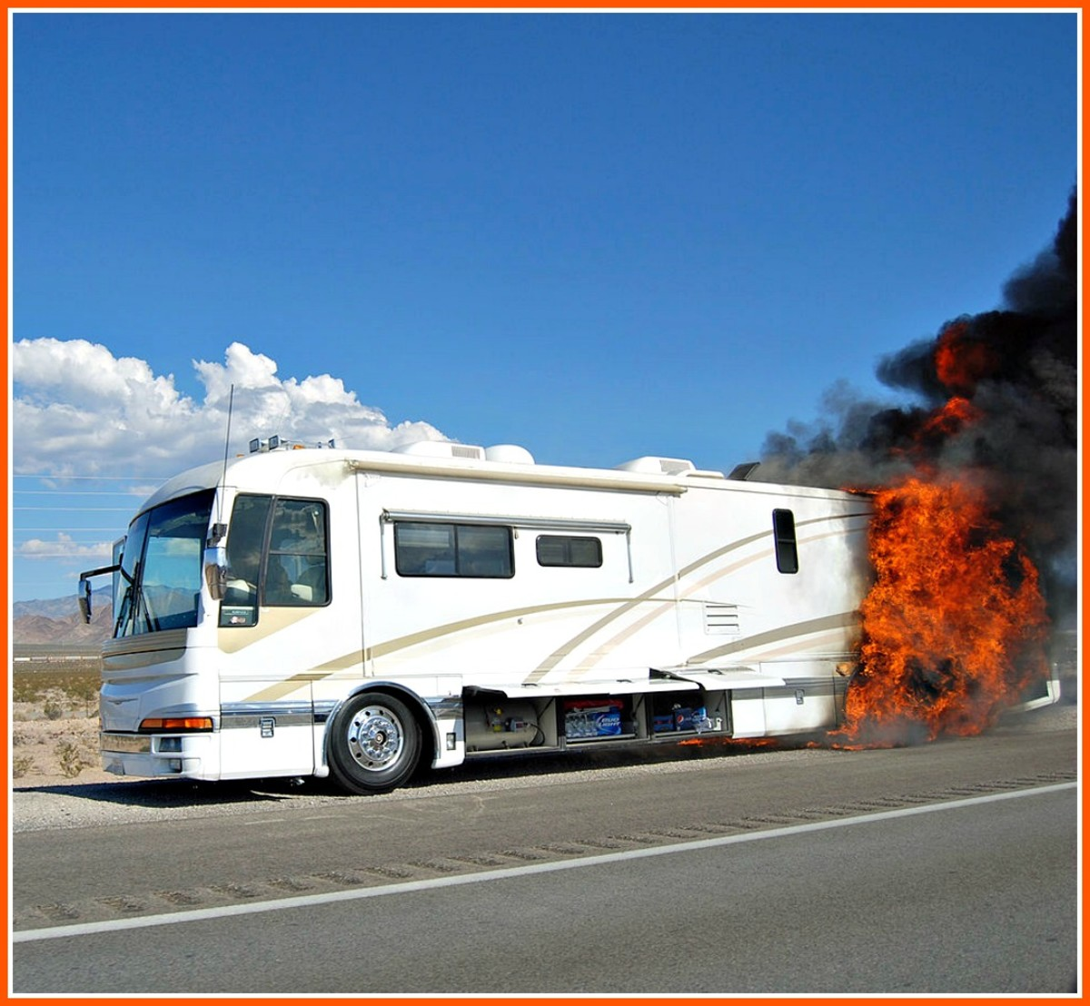 RV fires and accidents can happen at any time.  Having an evacuation plan can save your life.
