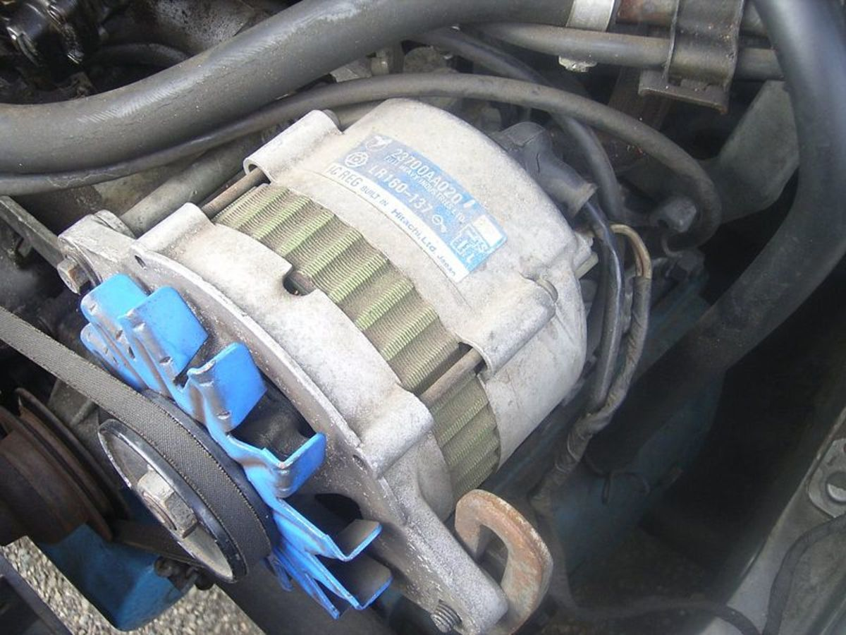 Alternator problems can discharge your battery.
