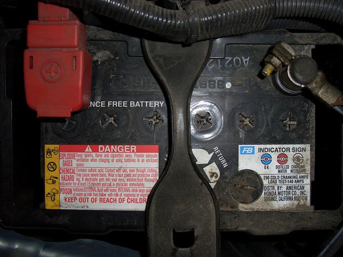 Corroded, loose or damaged terminals can prevent the alternator from charging the battery.