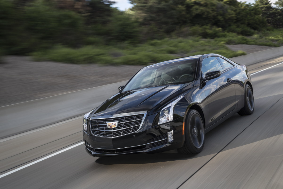 The Luxury trim on the Cadillac ATS comes in right under the $40K mark