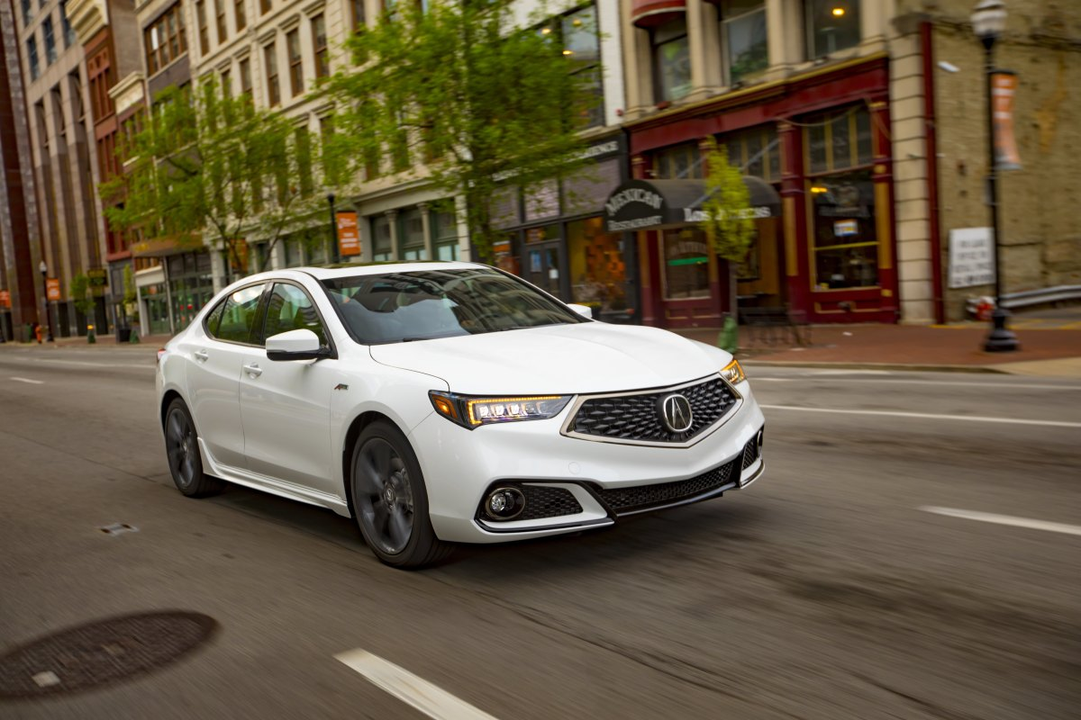 You can decide between a four-cylinder and V6 with the Acura TLX