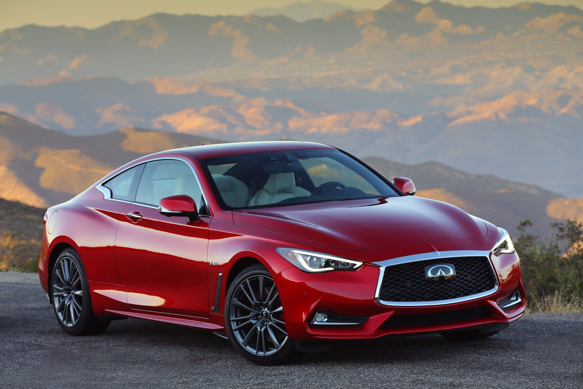 If you want to stay under $40K, you'll have to go with the bottom Infiniti Q60 trim