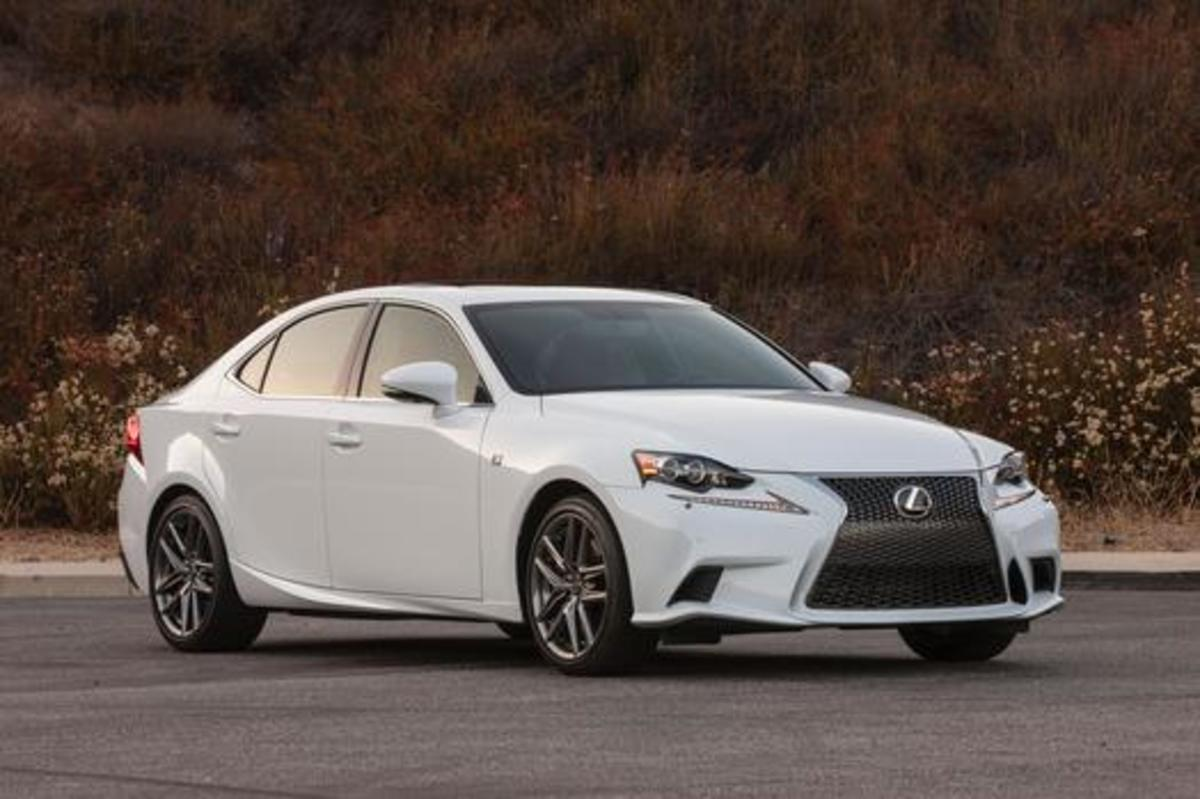 You don't need to worry about costly repairs and maintenance with the Lexus IS