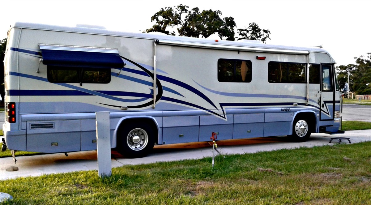 RV salesmen want you to tell them the type of RV you want so they can ascertain your price range.