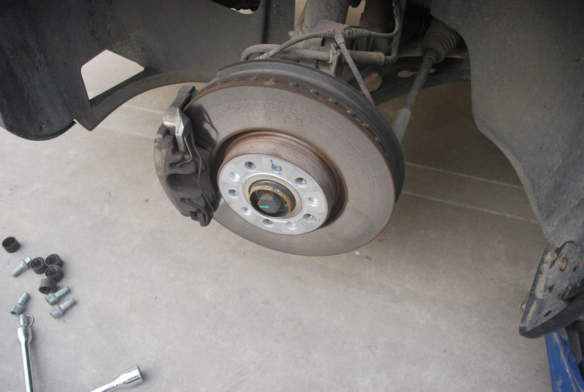 Check the operation of the brake caliper.