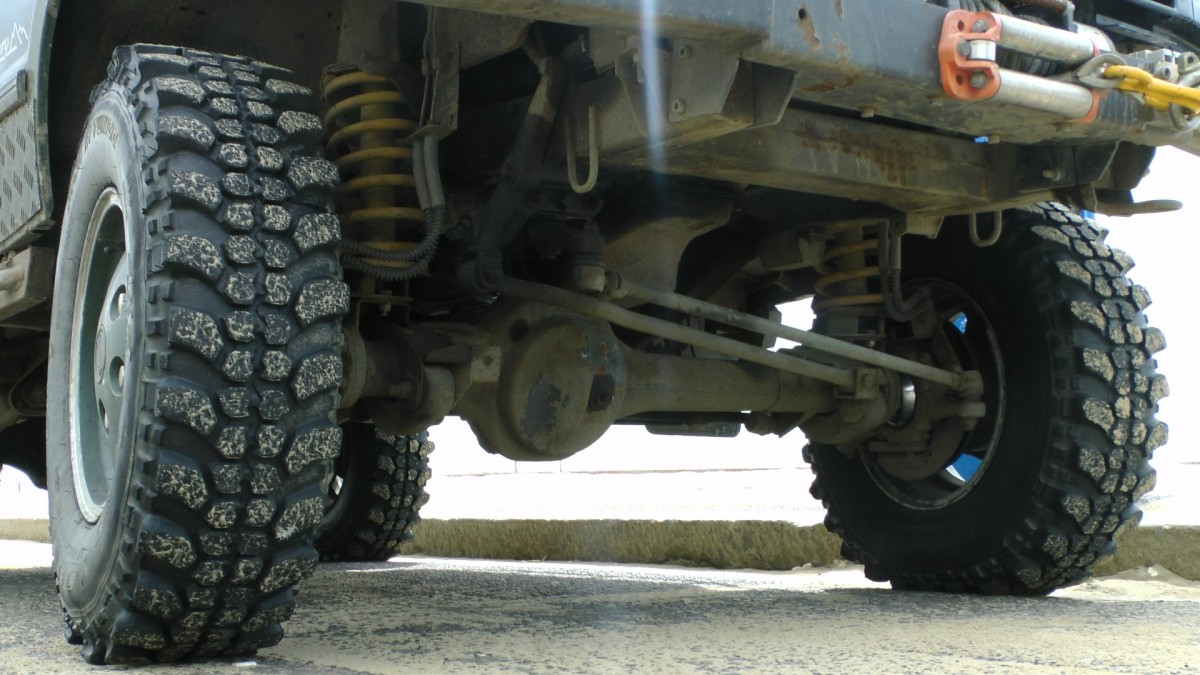Chassis, axles, and joints are a frequent source of noise and vibration.