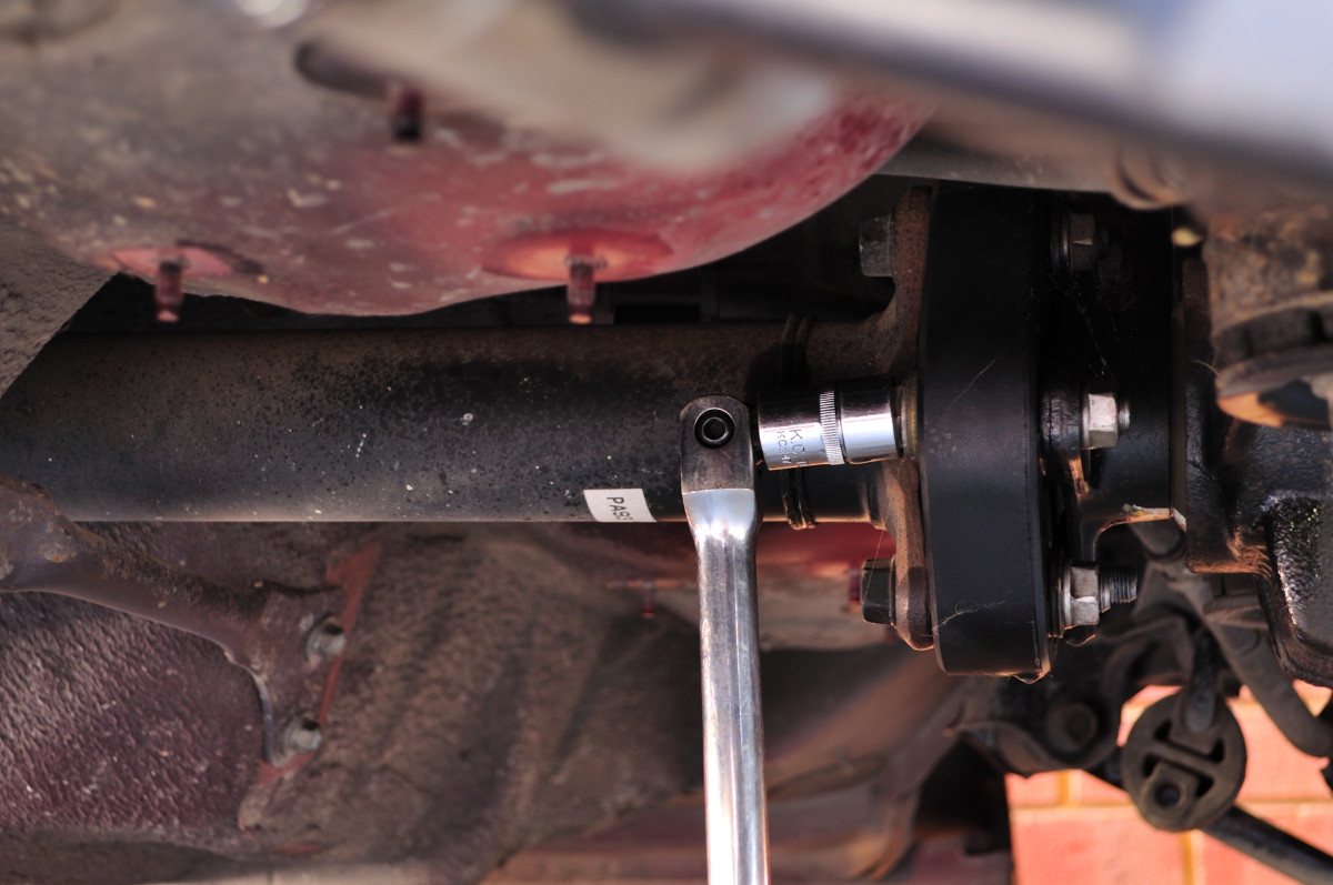 An unbalanced drive shaft can cause a vehicle to vibrate.